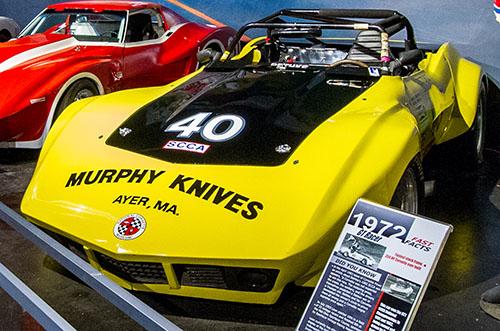 Murphy Knives Corvette Racer