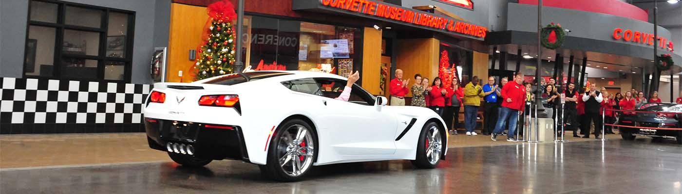 Final C7 Stingray Corvette Delivered at Museum