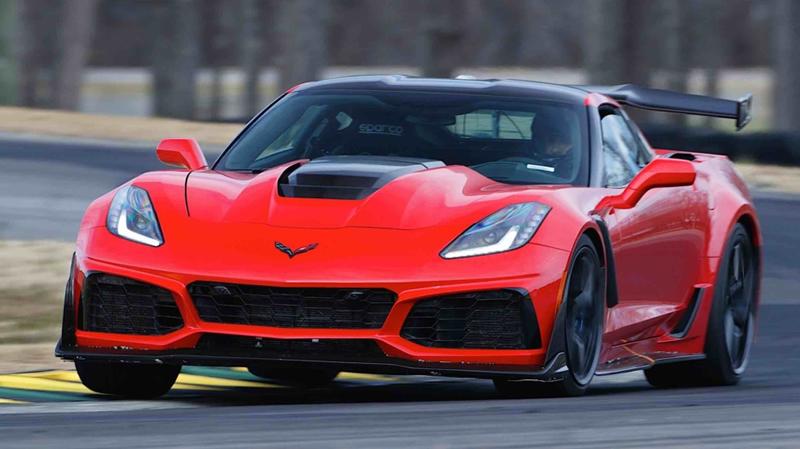 2019 Corvette ZR1 at VIR