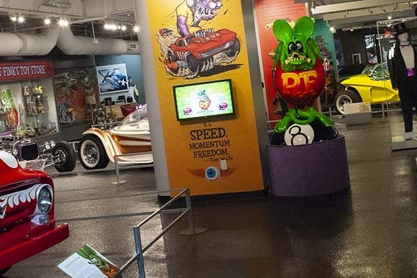 Rat Fink Exhibit