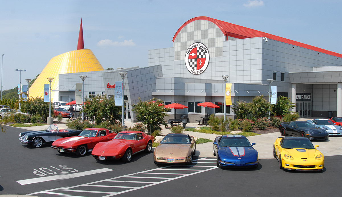 National Corvette Museum - Road Trip Planner, Road Trips USA, Road Trip America, Road Trips In USA, road trips planning, america road trip, road trip USA, best road trips in America, best road trip stops along I-65