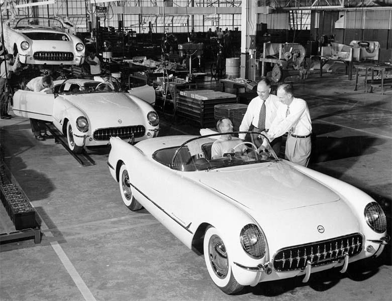 1953 Corvette Production