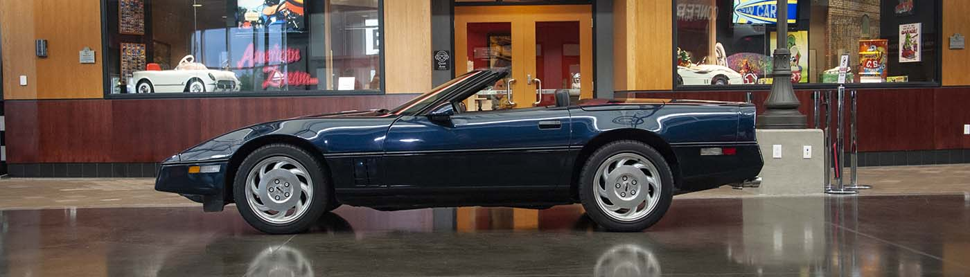 "1988 ""Miss America Corvette Convertible"" Donated"