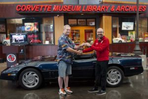 1988 Corvette Donation Lars Wallace Jr.