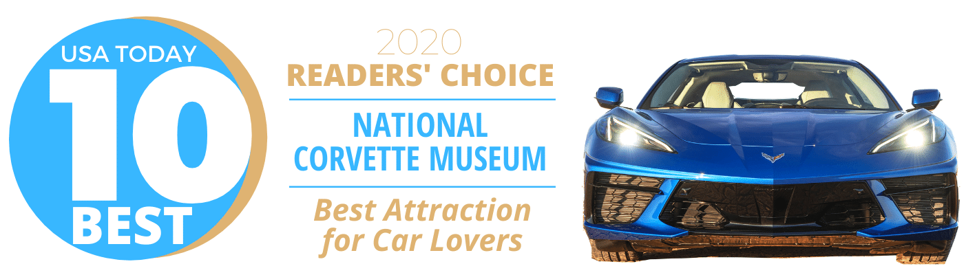 National Corvette Museum Named a Top Attraction by USA Today