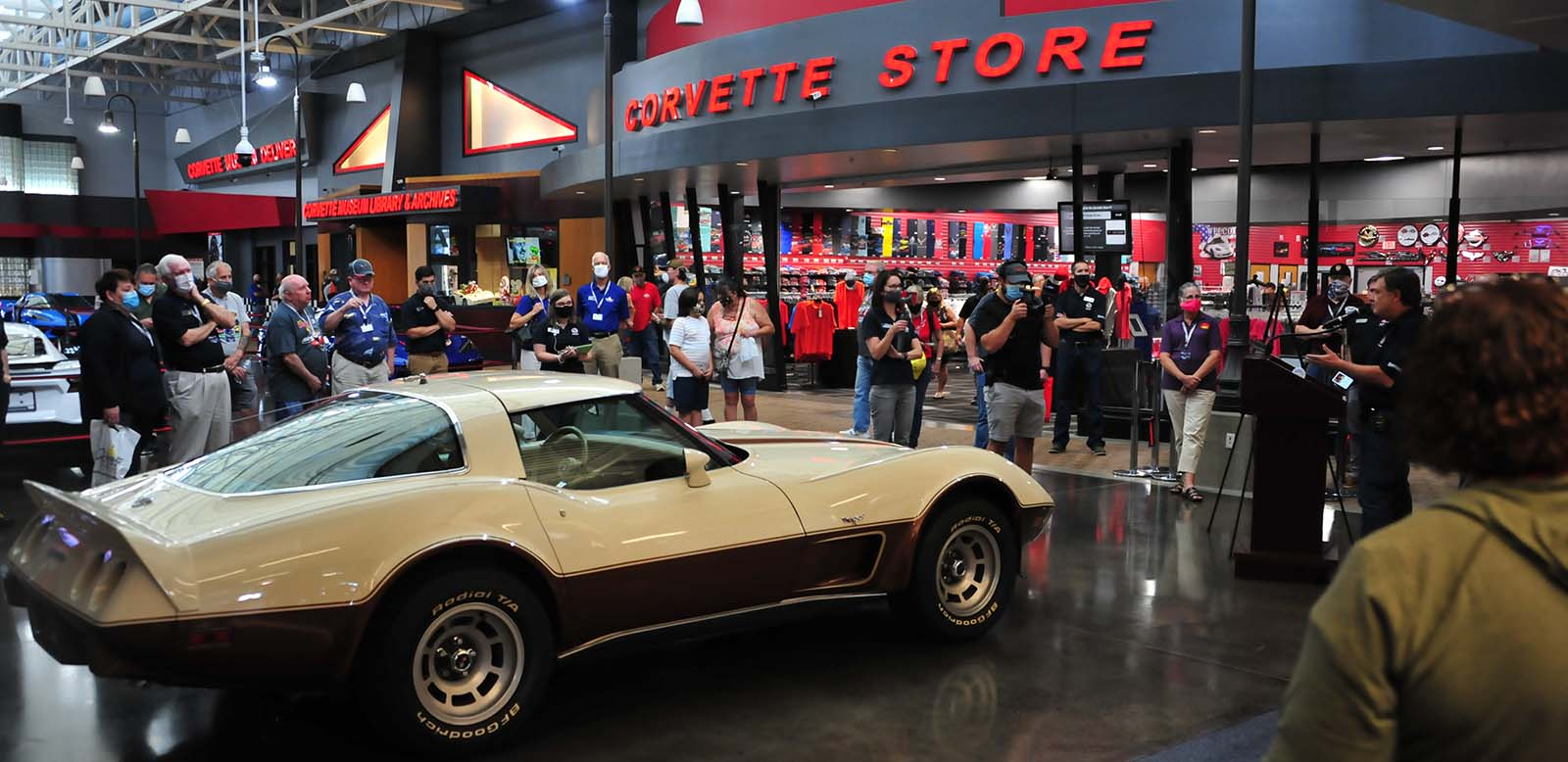 Museum Acquires 1978 Corvette Formerly Owned by George Jones