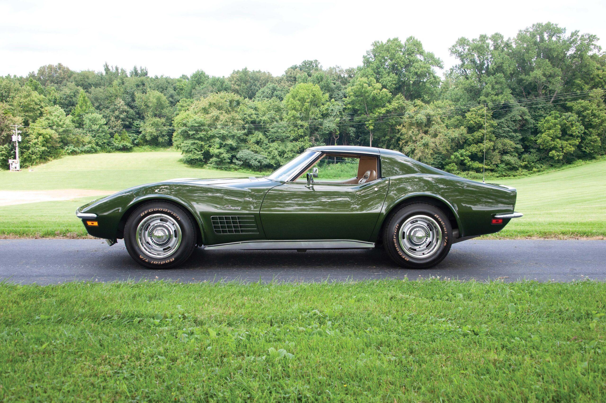 A Work of Heart: Couple Donates 1970 Corvette