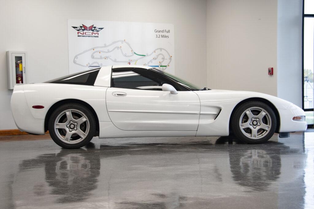 1999 Arctic White Corvette