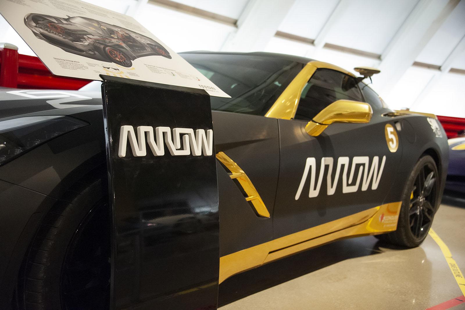 SAM Arrow Corvette