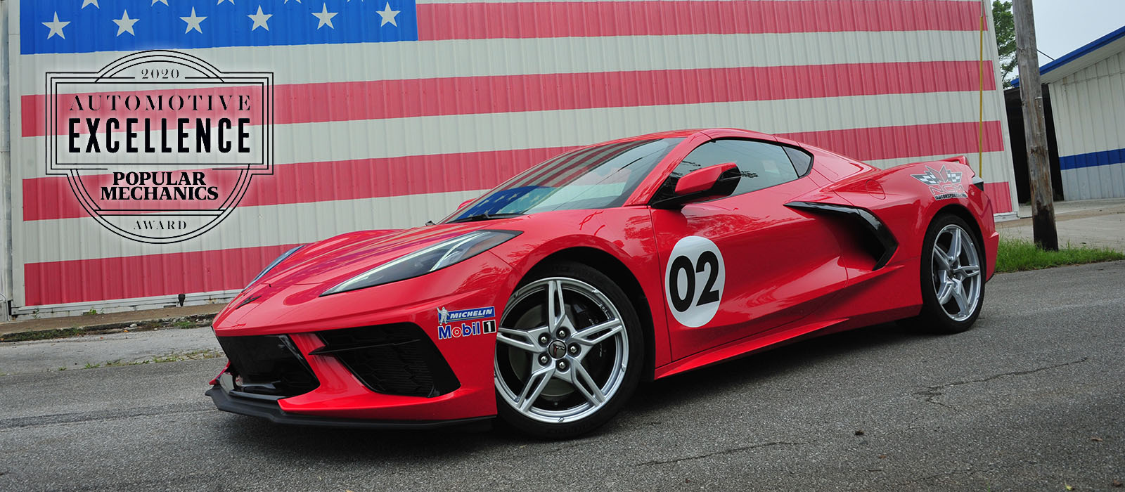 Corvette Awarded 2020 Car of the Year by Popular Mechanics