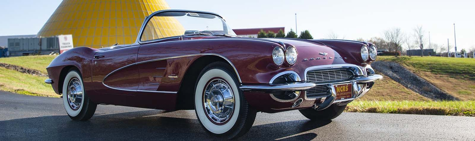 Award-Winning 1961 Corvette Donated