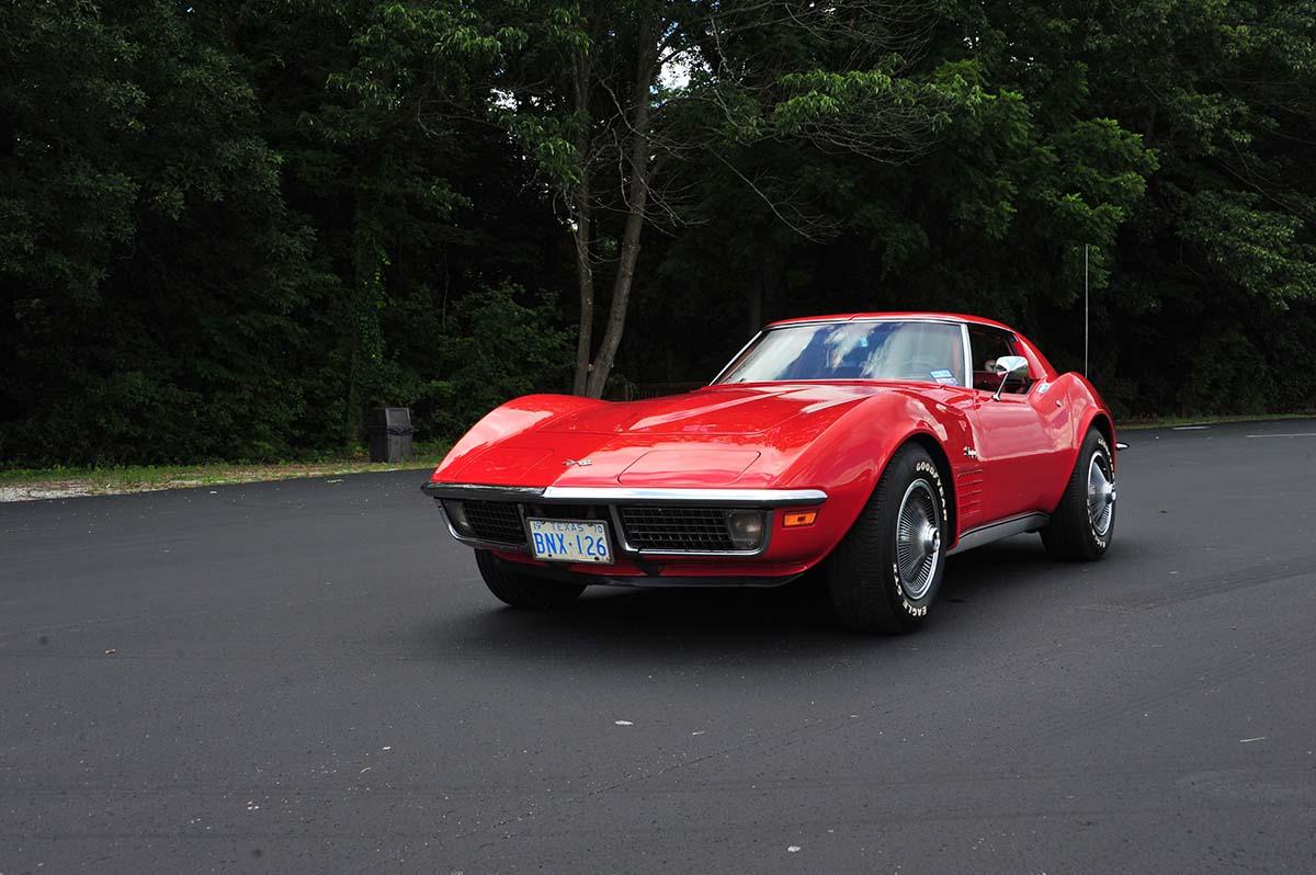 Corvette Donated In Memory of Vietnam Veterans