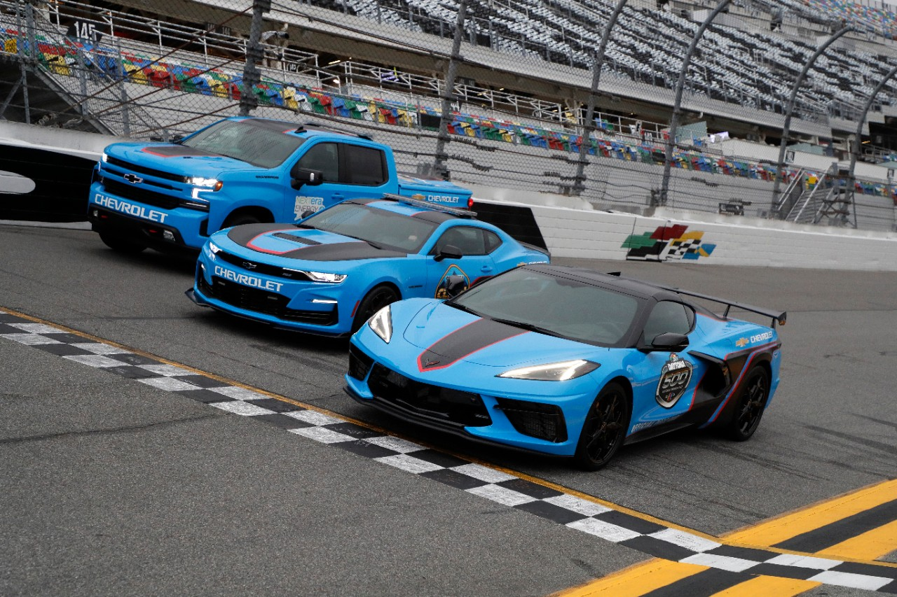 Chevrolet Will Set the Pace at Daytona