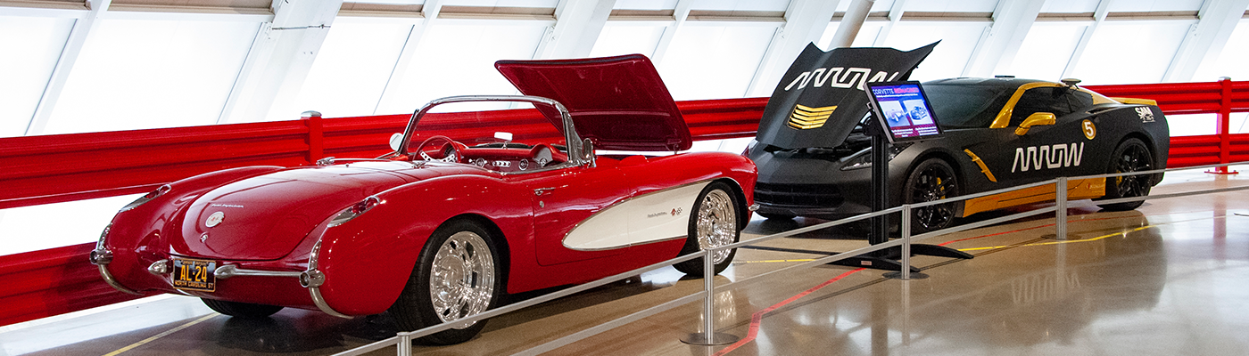 New Corvette Reimagined Display