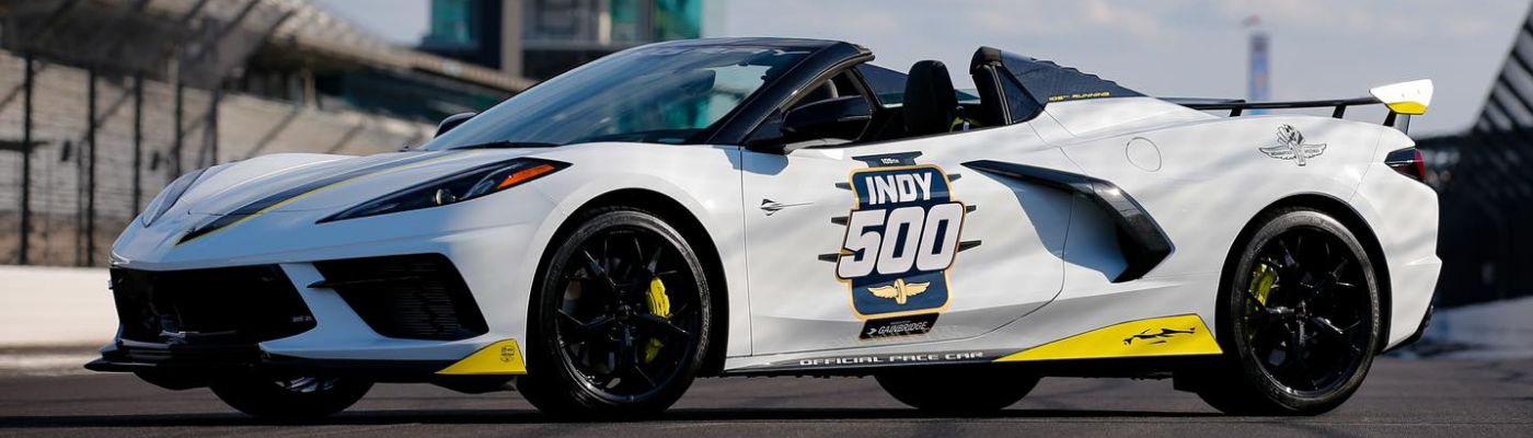 Corvette to Pace Indy 500