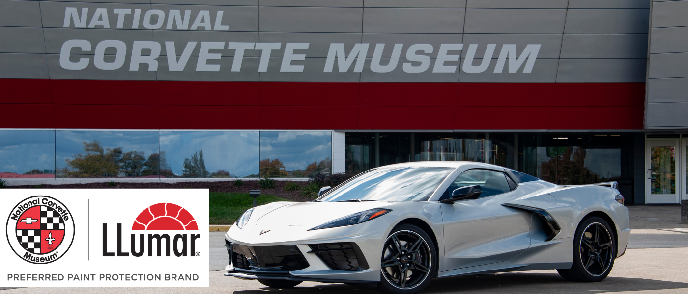 National Corvette Museum Announces LLumar® as their Preferred Paint Protection Film Brand