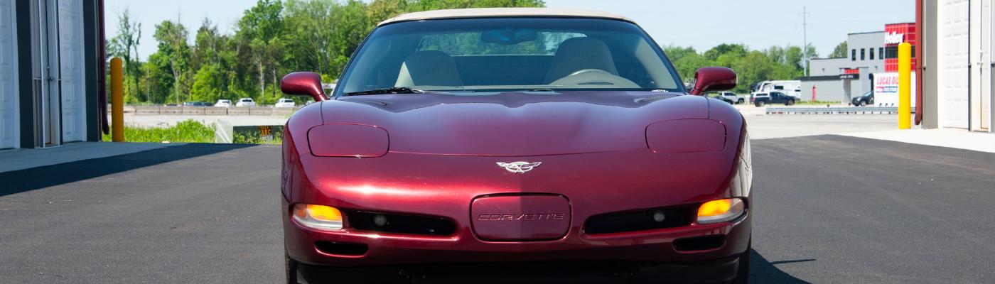 2003 Corvette Donated to Educational Program in Memory of Husband