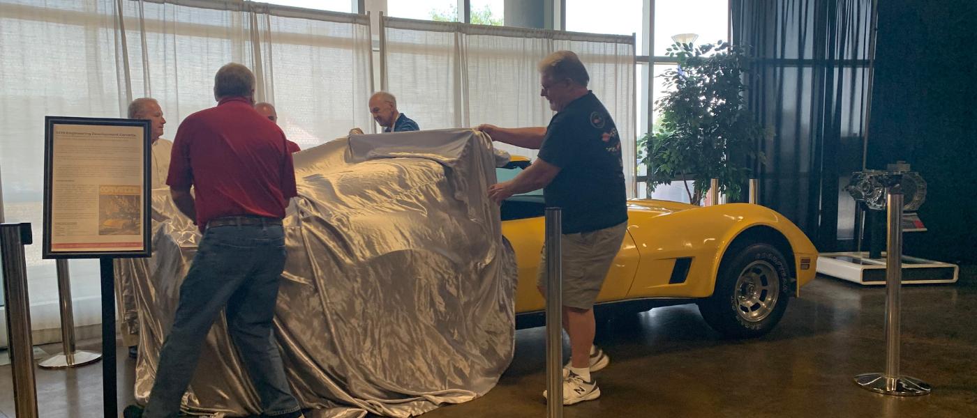 1979 Engineering Development Corvette Unveiled